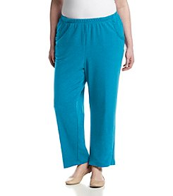 Alfred Dunner® Plus Size Adirondack Trail Proportioned Short Pants