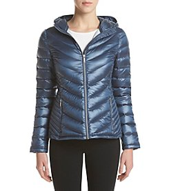 Calvin Klein Short Hooded Packable Quilted Jacket