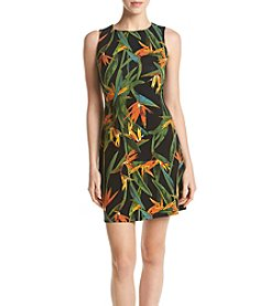 Ruff Hewn GREY Birds Paradise Tank Dress