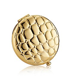Estee Lauder Golden Alligator Slim Compact