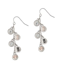 Kensie® Linear Shaky Earrings