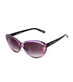 Betsey Johnson® Cateye Floral Plastic Sunglasses