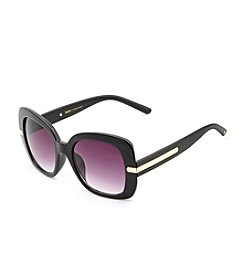Betsey Johnson® Square With Metal Detail Sunglasses