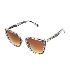 Cynthia By Cynthia Bailey Cateye Extreme Cat Sunglasses
