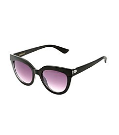 Betsey Johnson® Square Plastic Sunglasses