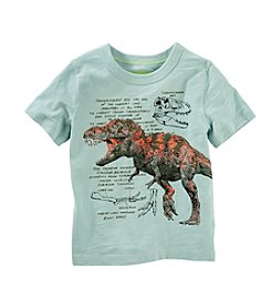 OshKosh B'Gosh® Boys' 2T-7 Short Sleeve Dino Tee