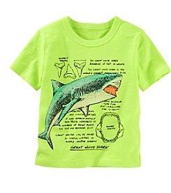 OshKosh B'Gosh® Boys' 2T-7 Short Sleeve Shark Tee