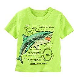 OshKosh B'Gosh® Boys' 2T-7 Short Sleeve Shark Tee