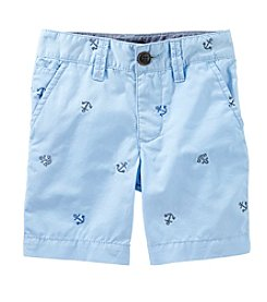 OshKosh B'Gosh® Boys' 2T-7 Printed Shorts