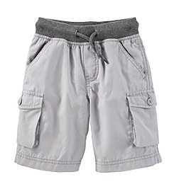 OshKosh B'Gosh® Boys' 2T-4T Cargo Shorts With Rib Waist