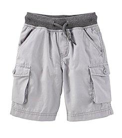 OshKosh B'Gosh® Boys' 2T-4T Cargo Shorts With Rib Waist