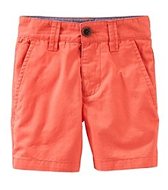 OshKosh B'Gosh® Boys' 2T-7 Solid Shorts