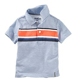 OshKosh B'Gosh® Boys' 2T-7 Short Sleeve Striped Polo