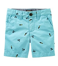 OshKosh B'Gosh® Boys' 4-7 Printed Shorts
