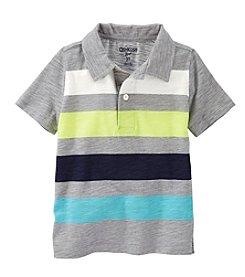 OshKosh B'Gosh® Boys' 2T-7 Short Sleeve Striped Polo
