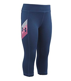 Under Armour® Girls' 2T-6X Favorite Capri