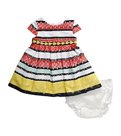 Sweet Heart Rose® Baby Girls' 2-Piece Lace Stripes Dress Bottom Set