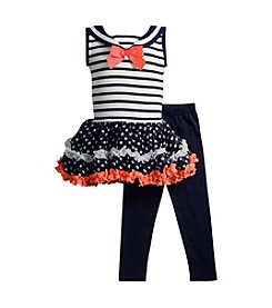 Sweet Heart Rose® Baby Girls' 2-Piece Sailor Mini Dress