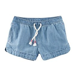 OshKosh B'Gosh® Girls' Denim Woven Shorts