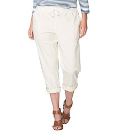 Chaps® Plus Size Cotton Twill Joggers