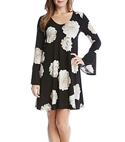 Karen Kane® Floral Flare Dress