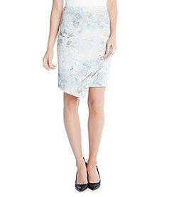 Karen Kane® Angled Granite Skirt