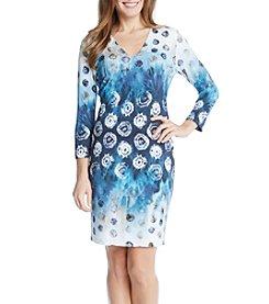 Karen Kane® Sea Escape Sheath Dress
