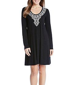 Karen Kane® Embroidered Dress