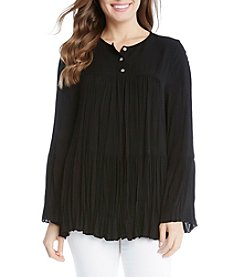 Karen Kane® Shirred Top