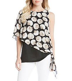 Karen Kane® Sea Shell Side Tie Top
