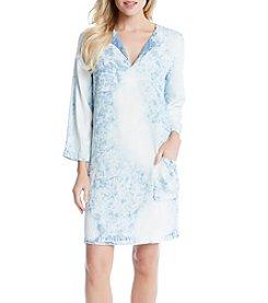 Karen Kane® Acid Wash Shift Dress