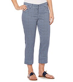 Rafaella® Gingham Pants