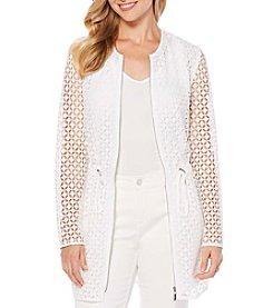 Rafaella® Lace Anorak Jacket