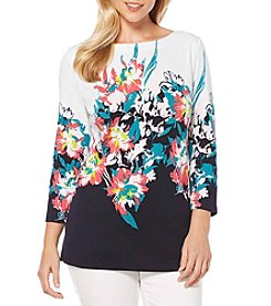 Rafaella® Floral Tunic