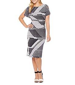 Rafaella® Grid Printed Dress