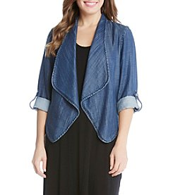 Karen Kane® Shirred Back Jacket