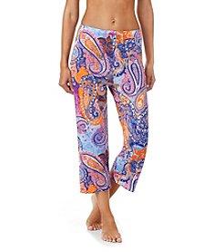 Ellen Tracy® Paisley Capri Pants