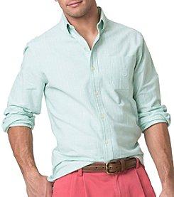 Chaps® Men's Long Sleeve Stretch Stripe Woven