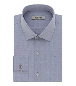 Kenneth Cole REACTION® Men's Long Sleeve Slim Fit Dobby Dress Shirt
