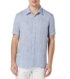 Perry Ellis® Men's Short Sleeve Button Down
