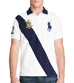 Polo Ralph Lauren® Men's Weathered Mesh Short Sleeve Knit Polo