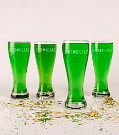 Cathy's Concepts Set of 4 St. Patrick's Day Shenanigans 20-oz. Pilsners