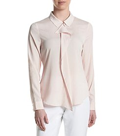 Ivanka Trump® Point Collar Woven Shirt