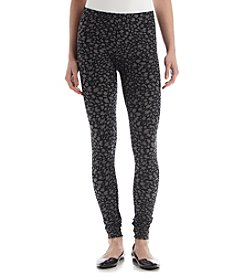 Pink Rose® Cheetah Knit Leggings