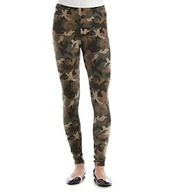 Pink Rose® Camo Knit Leggings