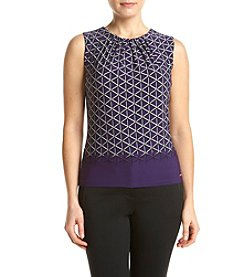 Calvin Klein Petites' Diamond Pleatneck Cami