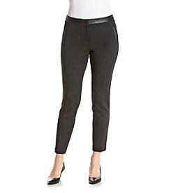 Calvin Klein Petites' Solid Knit Pants