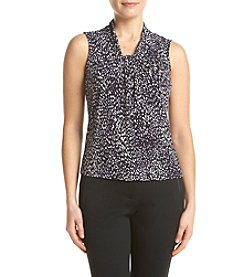 Calvin Klein Petites' Abstract Pullover Top
