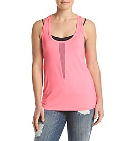 Charmed Hearts™ Mesh Panel Tank Top