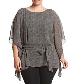 MICHAEL Michael Kors® Plus Size Stingray Print Tunic